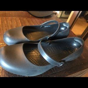 Woman's Mary Jane No Slip Crocs